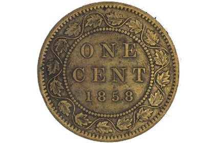 The penny's been around a long time, and it's still around . . . [Image submitted]