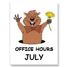 82b Groundhog&July