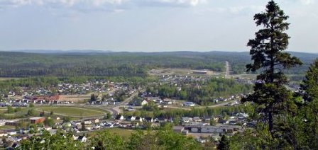 Manitouwadge in summer, in sunshine . . . [Image submitted]