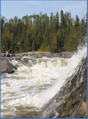 Manitou Falls . . . Hear the roar