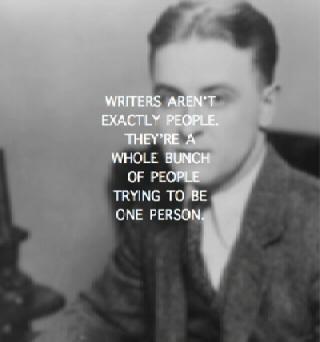F. Scott Fitzgerald said . . .