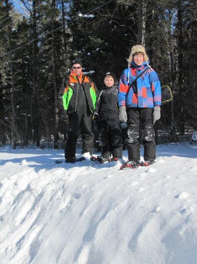 95d Snowshoers