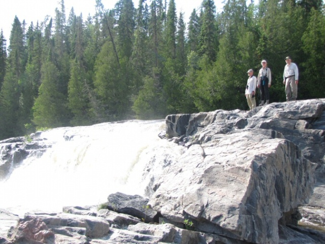Top of the falls