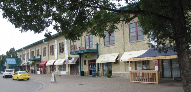 The Forks Market in the heart of Winnipeg