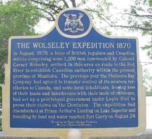 106d-c Wolseley hist'l plaque