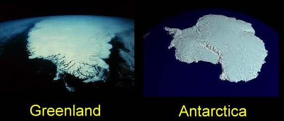 Ice sheets.  -Google image