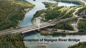 110d Nipigon River bridge concept