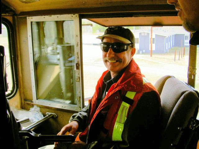 Ken Braden, engineer.