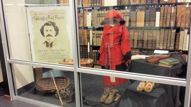 This display is not so much an archival event as it is a tribute to history, which is what an archive is all about.