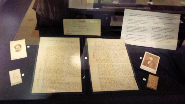 Riel's letter written in 1883.