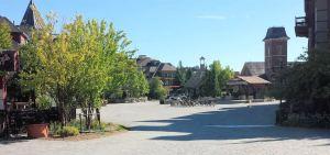 The Village Square.